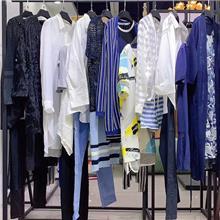 拓谷女装杭州的品牌折扣商场乐从家具尾货市场纯棉连衣裙