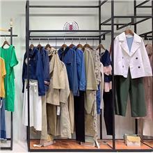 朴庄女装唯品会品牌折扣女装夏湖州织里尾货市场在哪里巴洛克灯芯绒连衣裙