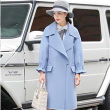2020年新品 毛衣大衣 双面呢 羽绒服 折扣女装武汉颜可可服饰