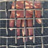 40x40锰钢方格孔丝网 圆型滚筒螺旋筛网