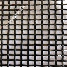 氟碳漆(雾黑色)金属装饰网 304幕墙网