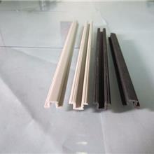 東莞塑膠擠出廠家 定制PVC塑料異型材 PVC工字條 塑膠制品 家具配件 潮美塑膠