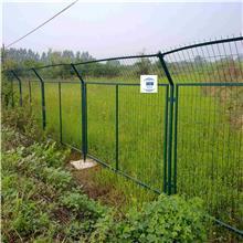 润潭供应湿地公园厂区隔离网   30度弯头金属围墙网