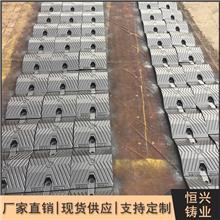 道路减速板_铸铁加厚型交通设施_公路汽车减速带
