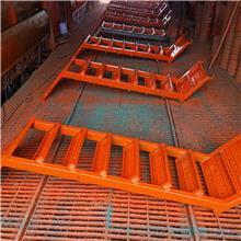 75型爬梯 建筑地铁通过用安全爬梯 香蕉式 箱式 桥梁建筑安全防护笼梯