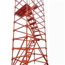 供应高铁安全梯笼 箱式安全爬梯 基坑通道安全爬梯