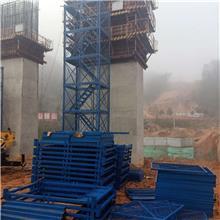 箱式安全梯笼 基坑通道梯笼 护笼式爬梯 墩柱施工安全爬梯