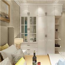 北欧风衣柜 水平 白色欧式衣柜 重庆家具定制 欢迎咨询