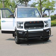 电动汽车成人油电两用新能源电动轿车全封闭式四轮电动车