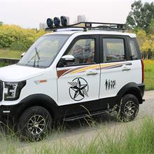 厂家直销吉普小越野老年代步车 全封闭电动车 可定制电动汽车