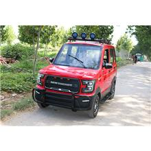 全封闭式电瓶车 可加装压缩机空调的电动汽车 家用接送孩子代步车