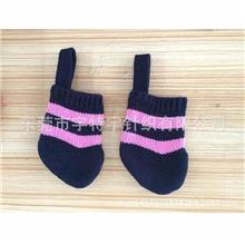 针织圣诞装饰袜挂件毛线圣诞袜圣诞靴子圣诞毛线袜子小号礼物袋