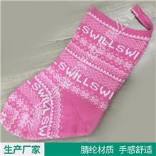 厂家批发 提花圣诞袜挂件 圣诞节装饰用品袋 圣诞树圣诞袜子礼物袋