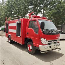 四驱水罐消防车 越野森林消防车 5立方水罐消防车厂家供应