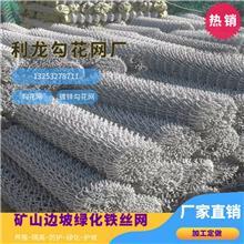 懷化勾花網鍍鋅勾花網綠化鐵絲網綠化鐵絲網價格廠家直銷