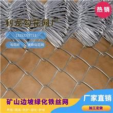 懷化勾花網鍍鋅勾花網綠化鐵絲網礦山邊坡生態修復價格廠家直銷