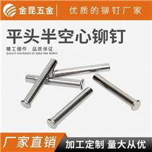 東莞供應 304不銹鋼鉚釘 平頭鉚釘 半空心鉚釘 實心鉚釘 鋁鉚釘
