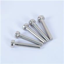 现货供应批发 不锈钢加厚平头铆钉 锥头铆钉 不锈钢平头实心钉