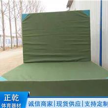 折叠加厚海绵跳高垫 武术散打专用垫 标准散打垫  国际帆布体操垫