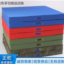 多种颜色海绵体操垫 河北沧州正乾体育体操垫 牛津布帆布体操垫
