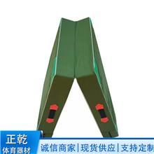 折叠帆布海绵垫子 健美健身瑜伽垫 跆拳道空翻垫子 跳高攀岩垫