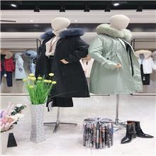 美潮之都  2020冬季皮草派克服 卖服装的进货渠道 女装进货去哪里比较好 女装批发