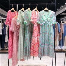 欧曼丽影 2020夏季连衣裙 厂家直接批发女装 卖女装 服装厂家 夏装女上衣批发