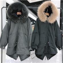 黛迪 2020冬季派克皮草大衣 女装时尚批发厂家直销 批发女装厂家批发 女装时装厂家