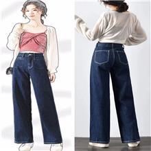 艾莲斯嫚  冬季加绒加厚牛仔裤 商丘女装批发市场在哪  品牌服装厂家