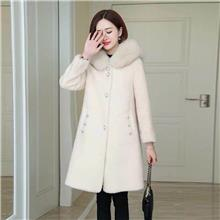 潮美 冬季水貂绒大衣 批发中老年女装 郑州衣服批发市场在哪 棉麻衣服批发市场