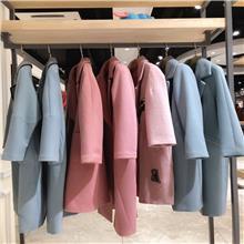 风行凯琦 冬季羊毛大衣 中老年女装批发 服装批发货源 广州服装尾货批发市场