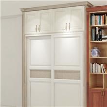 长沙全屋定制整体家具现代简约风衣柜定制平开柜门工厂直营