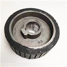 橡胶包铁芯轮 铝芯包胶棍压轮 橡胶夹棍 通用五金配件