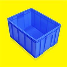 加厚塑料蓝色周转箱 仓储物流工具整理周转筐 厂家直销中转物流箱