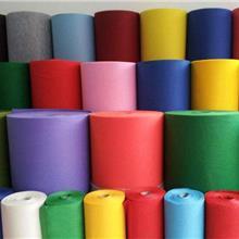 家居家纺彩色针刺无纺布 耐高温无纺布厂家定做