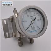 河北仪器仪表厂家供应 不锈钢压力表 隔膜压力表 不锈钢真空差压表