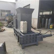 生产厂家 炼钢用液压金属压块机  车床刨花压块机