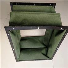 耐高温防火硅钛合金软接风机口软连接 空调帆布软连接 防火连接头