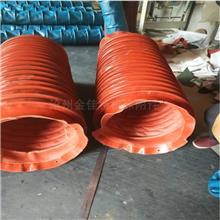 防爆阻燃耐腐蚀有机塑料风机软连接 风机帆布耐高温防火软连接