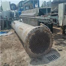 出售一批316不锈钢冷凝器 二手石墨冷凝器