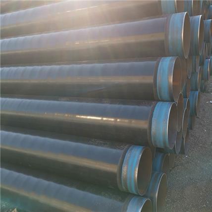 污水處理用地埋式3PE防腐螺旋鋼管 工業給水輸送3PE防腐螺旋鋼管