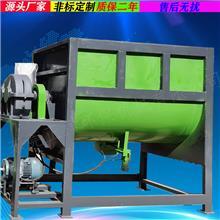 生产加工双螺带卧式搅拌机 硅藻泥搅拌混合机