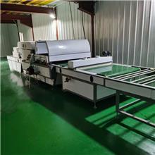 皮革木饰面板生态板uv滚涂机设备 厂家现货供应 板式家具家电玻璃uv淋涂机图片视频