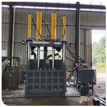 宁波升降门废不锈钢打包机 不锈钢废料压缩机 铝合金压包机