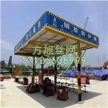 钢筋防护棚  钢筋加工棚 施工安全防护棚 单双立柱钢筋棚厂家现货供应