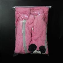 磨砂PE拉链袋 袜子口罩包装袋 定制内衣内裤自封透明塑料服装袋 自封袋定做