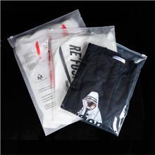 定制印刷内衣袜子服装包装袋 pe自封袋塑料包装袋 透明磨砂拉链袋定做