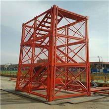 安全梯笼 基坑通道梯笼组合 框架式安全梯笼海亿现货批发