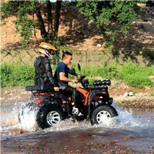 沙滩四轮越野摩托车 全地形轴传动电动沙滩车 雪地越野摩托车厂家