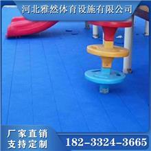 PVC悬浮拼装地板幼儿园户外运动地胶篮球场塑胶地板强化地胶板